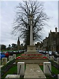 SP3509 : Witney War Memorial, Church Green, Witney by Brian Robert Marshall