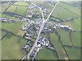 H4863 : Seskinore village by Gordon Dunn