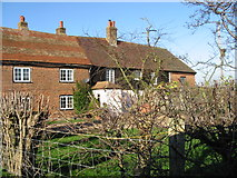 TR2856 : Houses on Chalk Pit lane. by Nick Smith