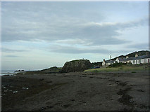 NS2515 : The beach at Dunure by John White