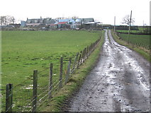 NS4259 : Mountop Farm by wfmillar