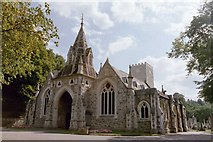 TQ2272 : Putney Vale Crematorium by Bilbo