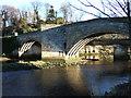 NU2406 : Warkworth Bridge by Derek Harper