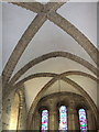 NU2406 : St Lawrence's church, Warkworth - the vaulted chancel by Derek Harper