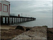 TM3034 : Felixstowe Pier by Snidge