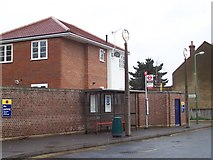 TQ1684 : 204 Bus Stop - Sudbury Town Station by Russell Trebor