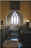 TF7633 : All Saints, Bircham Newton, Norfolk - East end by John Salmon
