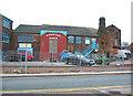 SJ9142 : Bottle kiln, former Minkstone Works, Longton by Espresso Addict