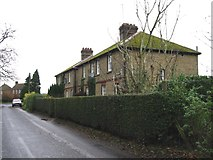 TR3256 : Row of houses on Felderland Lane. by Nick Smith