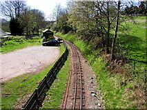SD1499 : Eskdale Green Station on the Ravenglass & Eskdale Railway by Andy Beecroft