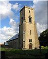 TG0336 : All Saints, Sharrington, Norfolk by John Salmon
