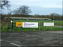 SK2538 : Derby Cats Rescue Centre by John Poyser