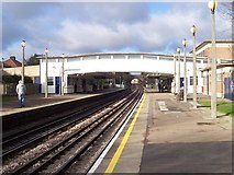 TQ1684 : Sudbury Town Station by Russell Trebor