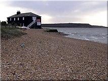 SZ1891 : The Black House, Mudeford Spit by Jim Champion