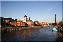 SK7954 : River Trent by Richard Croft
