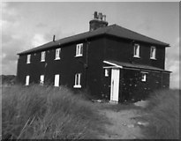 SZ1891 : The Black House, Mudeford Spit, Hampshire by Dr Neil Clifton