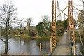 NY3971 : Netherby Footbridge by Alexander P Kapp