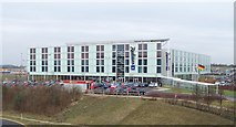 TL5523 : Radisson Hotel at Stansted Airport by Thomas Nugent