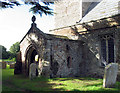 TL6999 : All Saints, Wretton, Norfolk - Porch by John Salmon