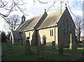 NU1620 : South Charlton Church by Walter Baxter