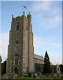 TM2373 : Stradbroke, All Saints by Charles Greenhough