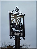 TM1340 : Belstead Village Sign by Keith Evans