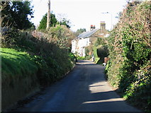 TR3451 : Cherry Lane, Great Mongeham by Nick Smith