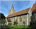 TR2157 : St Vincent, Littlebourne, Kent by John Salmon