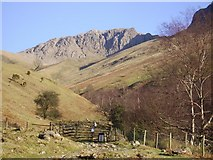 NY1807 : Lingmell Gill and Pikes Crag by Michael Graham
