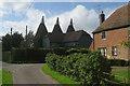 TQ7148 : Elphicks Farm, Water Lane, Hunton, Kent by Oast House Archive