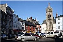 SX3384 : Launceston Town Square by Tony Atkin