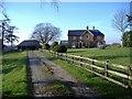 SU0684 : Flaxlands Manor Farm by Roger Cornfoot