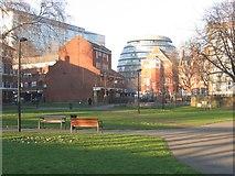 TQ3379 : St John's park, Bermondsey by Stephen Craven