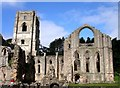 SE2768 : Fountains Abbey by Tom Pennington