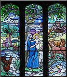 SP6517 : St Mary, Ludgershall, Bucks - Window by John Salmon