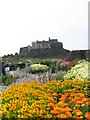 NU1341 : Lindisfarne Castle & its Jekyll Garden by ann young