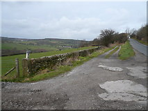 SK2962 : Farley Lane,Tax Farm and Tax Cottage Access Roads Meet by Alan Heardman