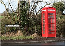 SO9856 : Telephone Box at the corner of A422 and Cockshot Lane, Dormston by Chris Farman