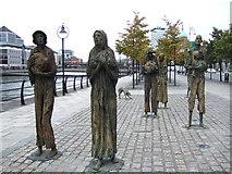 O1634 : Famine memorial by the Liffey by ceridwen