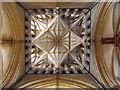 SK9771 : Lincoln Cathedral - View up inside tower by BB