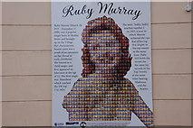 J3273 : Ruby Murray plaque, Belfast by Albert Bridge