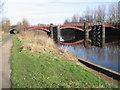 NS6162 : Clyde Walkway and Railway bridge near Dalmarnock by Chris Wimbush