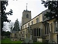 TF4108 : St Mary's church at Wisbech St Mary by Chris Stafford