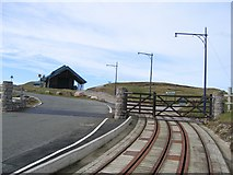 SH7783 : Great Orme Tramway by John S Turner