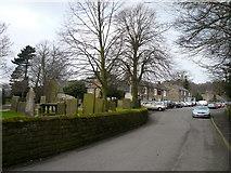 SK3463 : Ashover - Church Street view towards The Crispin Inn by Alan Heardman