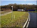 SK8838 : Bad news - footpath meets major road by Ken Brockway