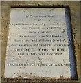 SU2264 : The 'Ailesbury' column, Savernake, inscription 1 by Brian Robert Marshall