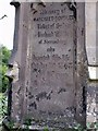 SJ4113 : Grave Stone in Ford, Shropshire by BB