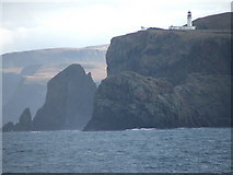 NC2574 : Cape Wrath from seaward by Colin Wheatley