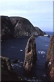 HZ1970 : Da Sherriff, Lunna Geo, Fair Isle by Mike Pennington